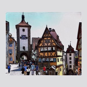 Rothenburg20161201_by_JAMFoto Throw Blanket